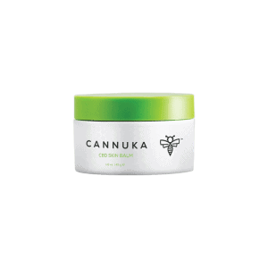 front view of cannuka cbd skin balm