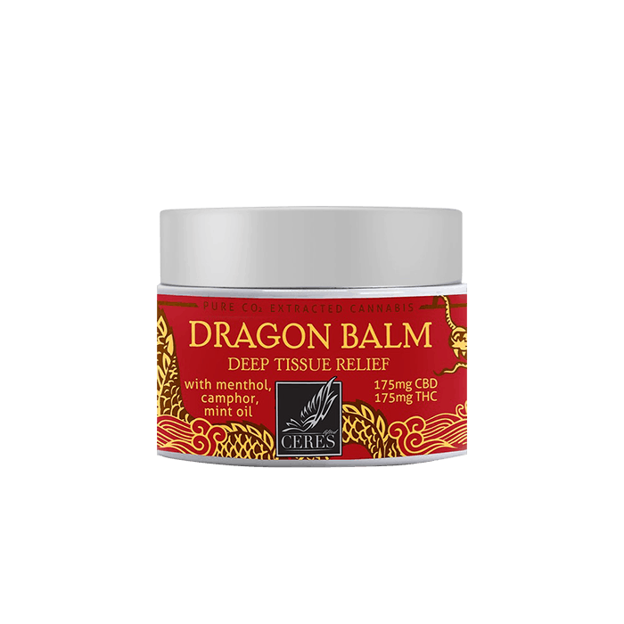 back view of Ceres Dragon Balm 300mg