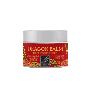 front view of Ceres Dragon Balm 300mg