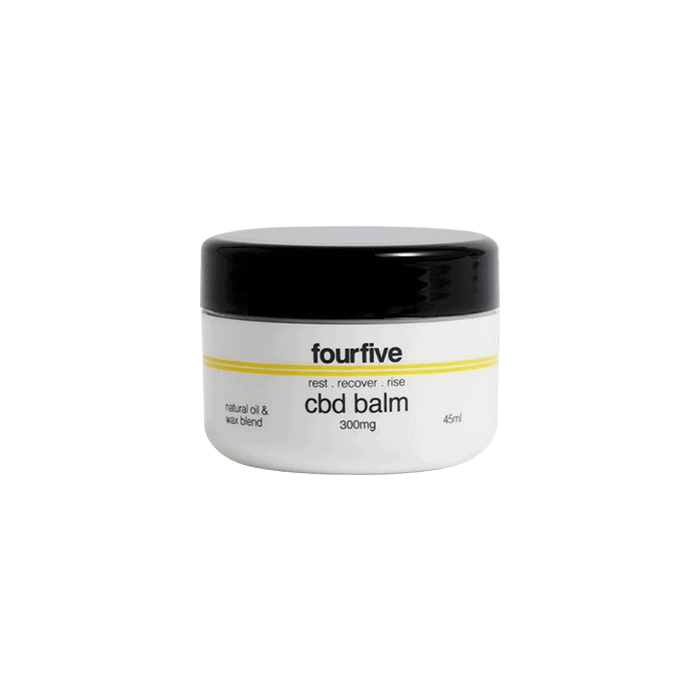 Front view of FourFive-CBD-Balm