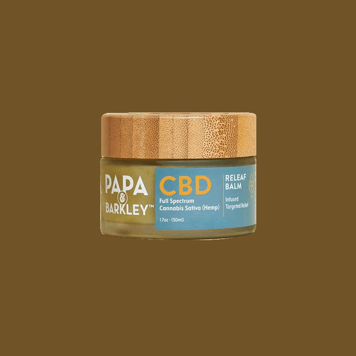 Back view of Papa&Barkley-CBD-Releaf-Balm
