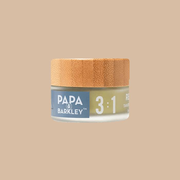 Front view of PapaandBarkley-3-1-CBD-THC-Releaf-Balm