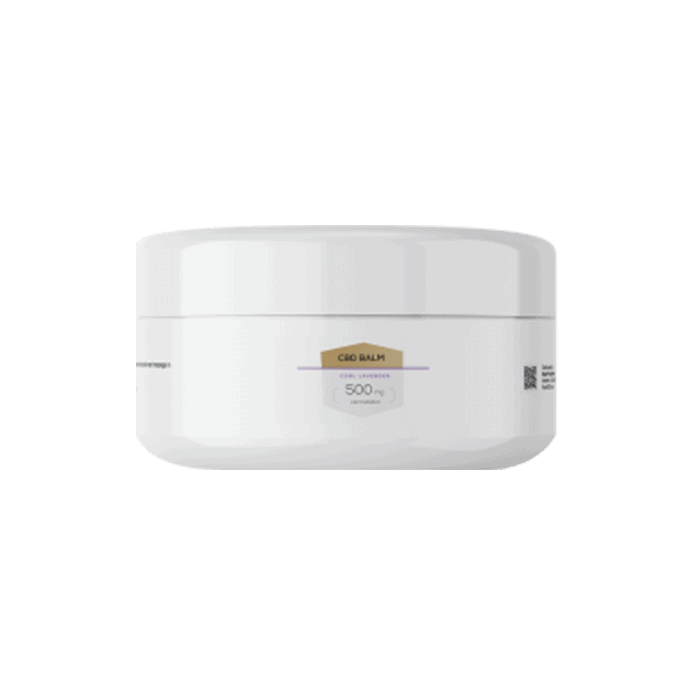 Front view of RoyalCBD-Balm