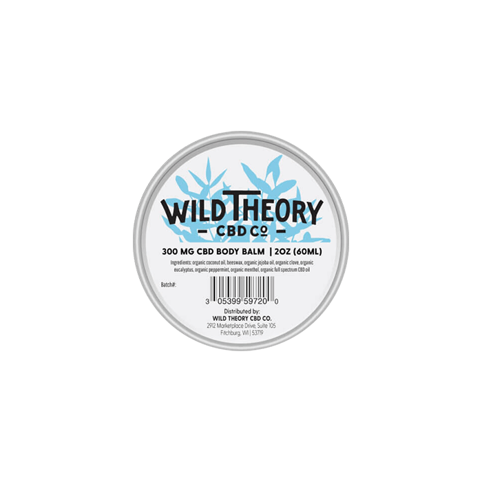 Back view of WildTheoryCBDCo-CBD-Balm-300mg