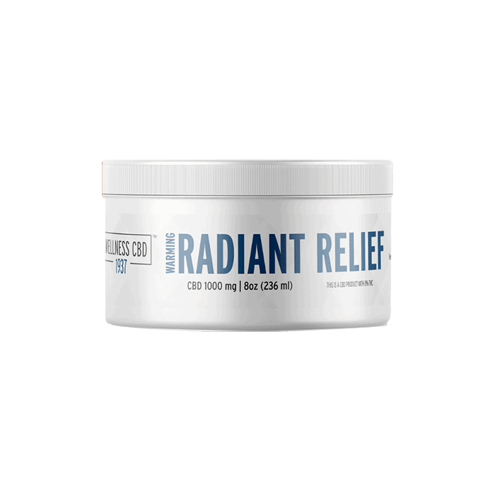 Front view of 1937 Wellness CBD Radiant Relief