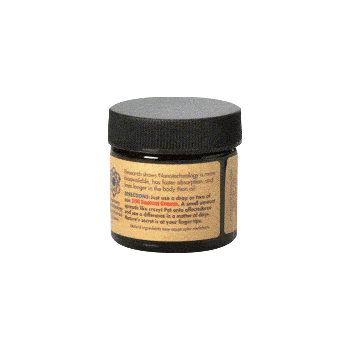 Back view of AmericanShaman CBD 250 Topical Cream