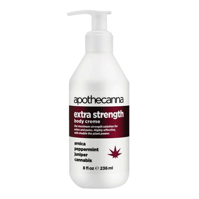 Front view of Apothecanna Extra Strength Body Creme