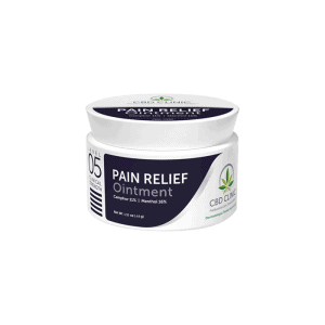 front view of cbd clinic pain relief ointment level 5