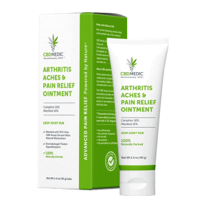 Front view of CBDMedic Arthritis Aches & Pain Relief Ointment