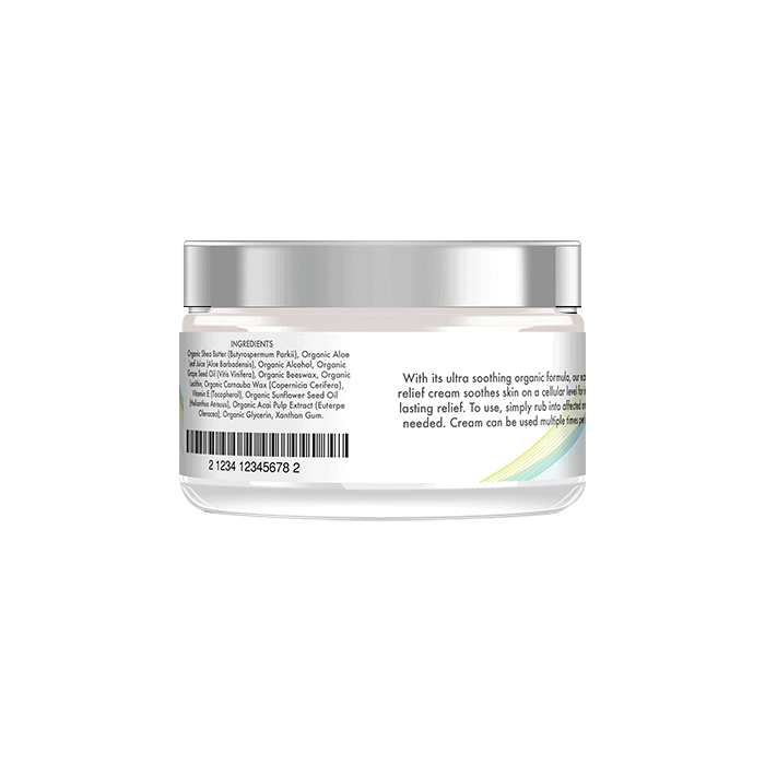 Back view of Clearbody Organics Skin Therapy