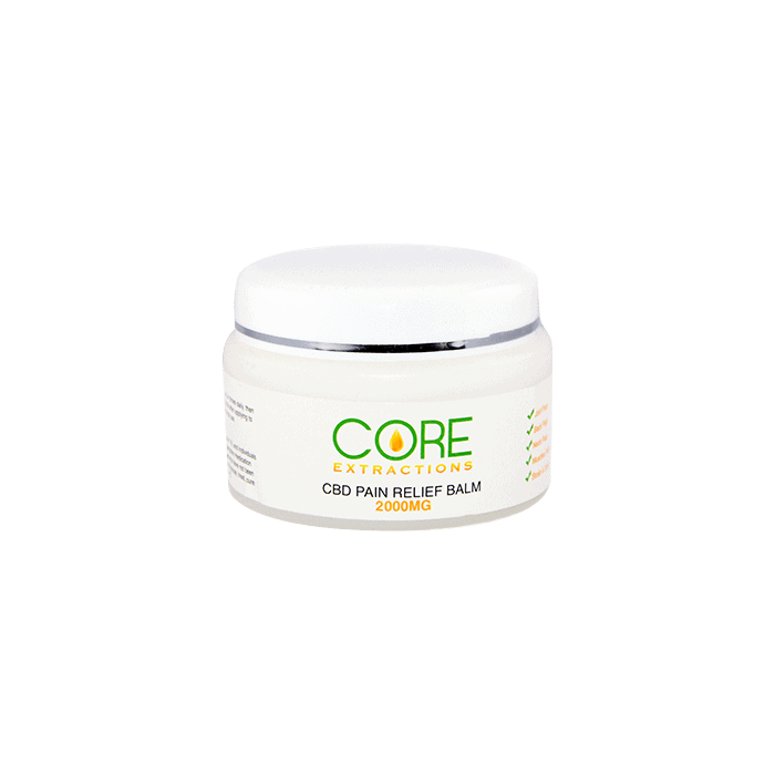 front view of core extractions cbd pain relief