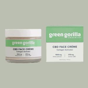 Front view of GreenGorila-CBD-Face-Creme