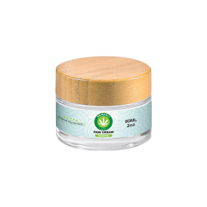 Front view of Hempeli-1000mg-CBD-Pain-Relief-Topical-Cream