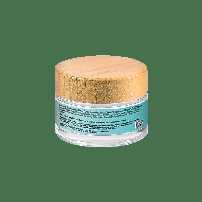 Back view of Hempeli-250mg-CBD-Pain-Relief-Topical-Cream