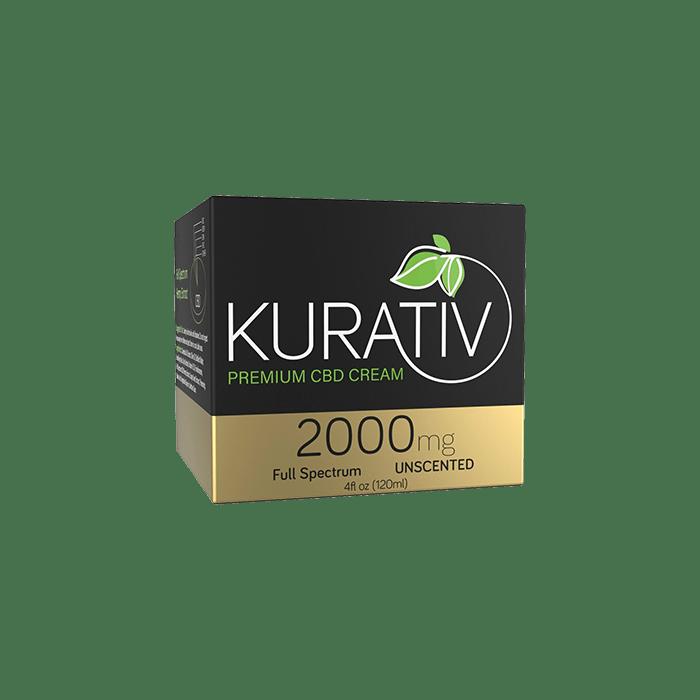 back view of Kurative Premium CBD Cream