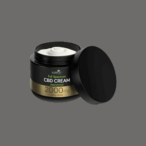 front view of Kurative Premium CBD Cream