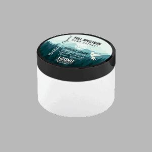Front view of LeafbloomOrganics-Phoenix-Cream-Cooling-CBD-Pain-Relief-Cream