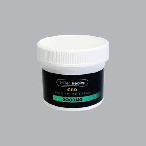 Front view of Miller Healer CBD Pain Relief Cream