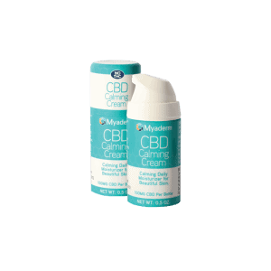 Front view of Myaderm CBD Calming Cream