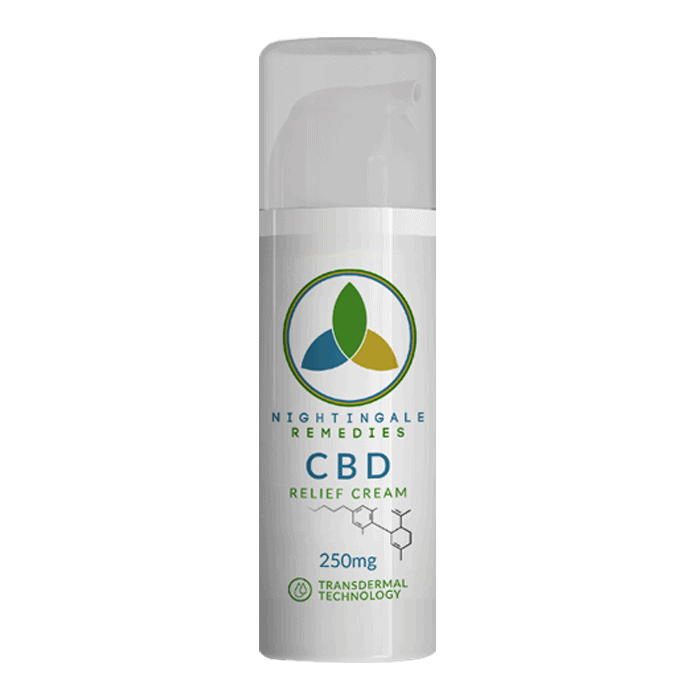 Back view of FABCBD Topical Cream