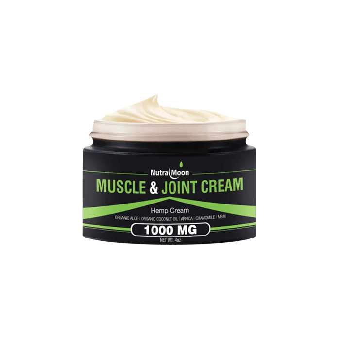 Front view of NutraMoon Muscle & Joint Cream 1000mg