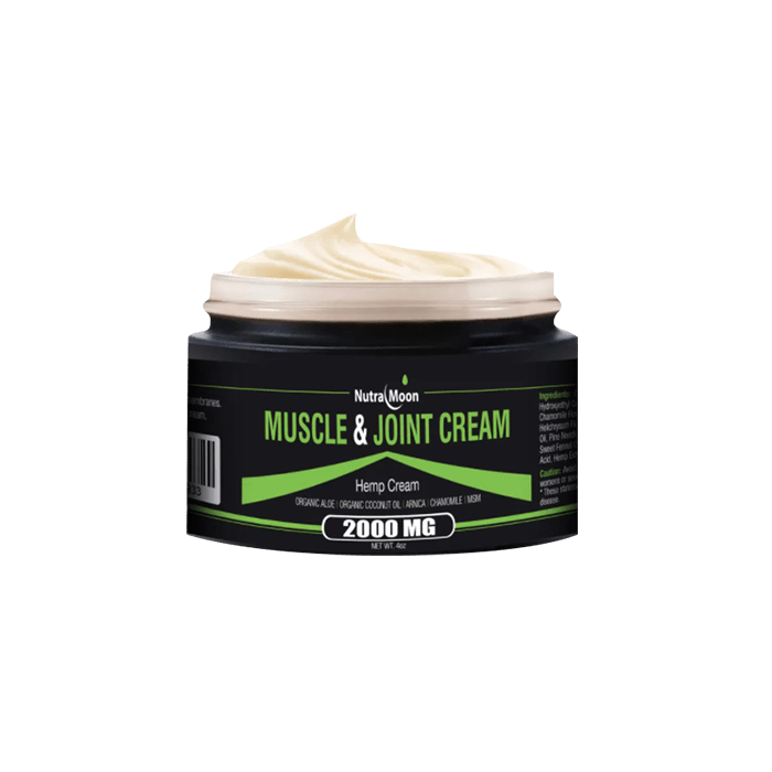 Back view of NutraMoon Muscle & Joint Cream 2000mg