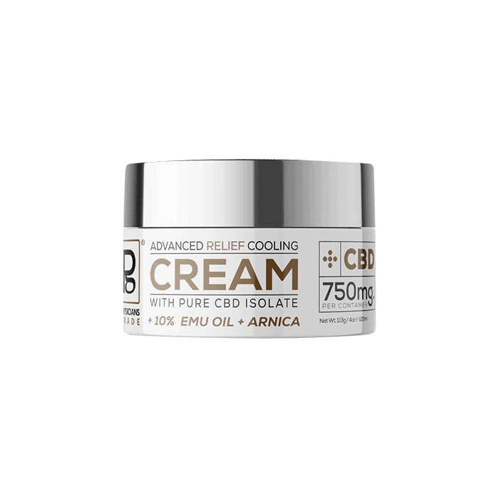 Back view of PhysiciansGrade-Advance-Relief-Cooling-Cream