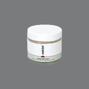 Front view of RADCBD Relief Cream
