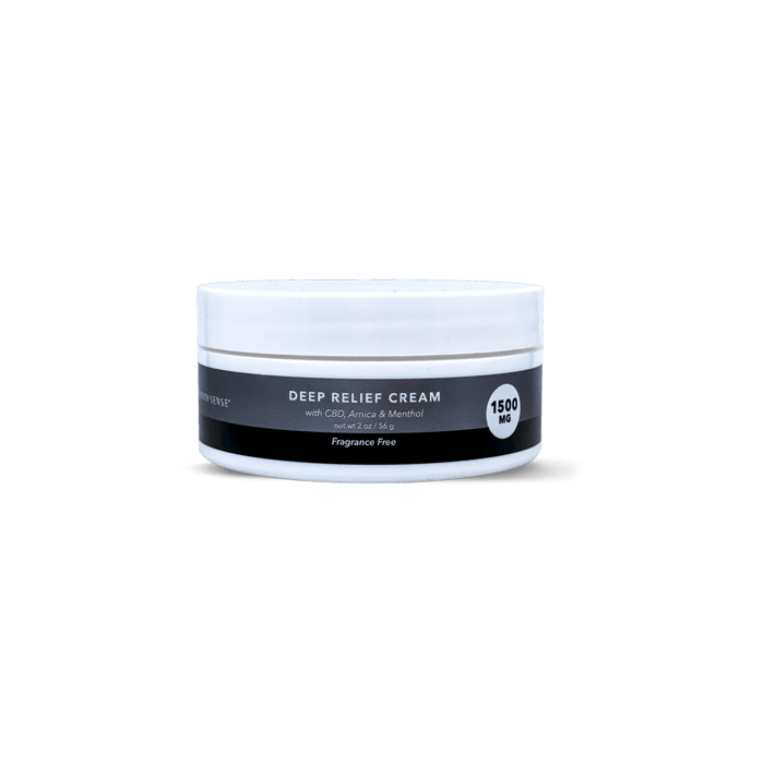 front view of Seventh Sense Deep Relief Cream 1500mg