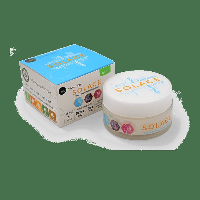 Back view of Solace-CBD-Cream