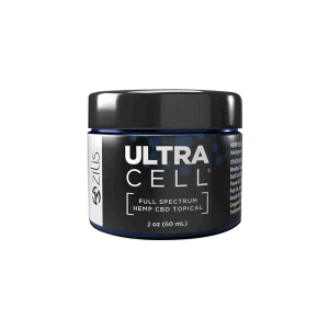 Front view of Zilis Ultra Cell Full Spectrum Hemp CBD Topical