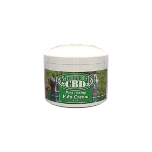 front view of Nature's best cbd pain cream