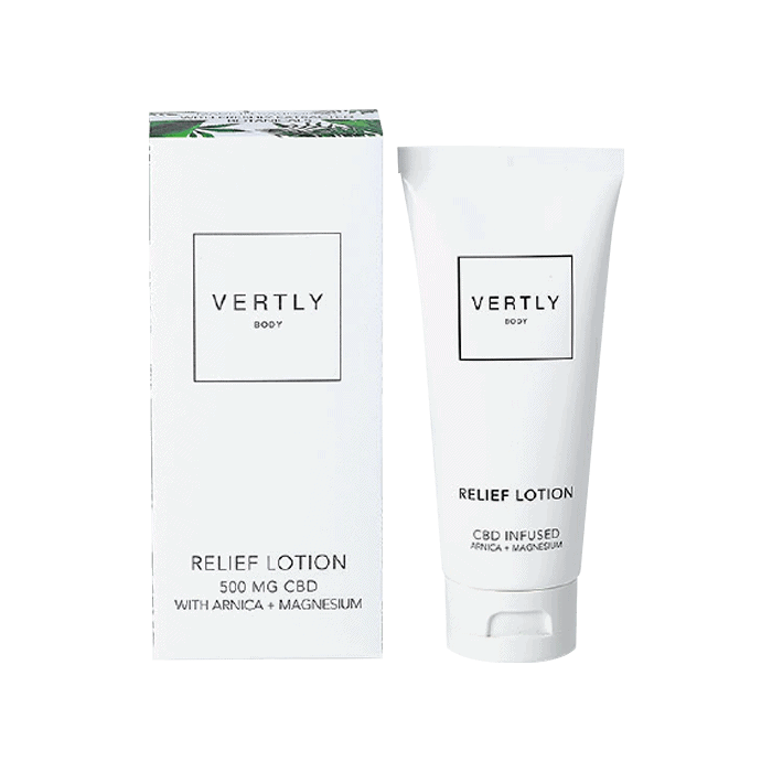 Back view of VertlyBody-Relief-Lotion