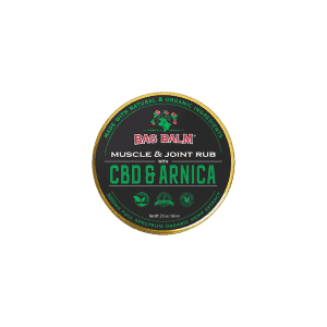 front view of bag balm muscle & joint rub