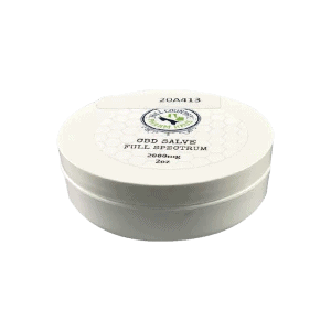 Back view of Hill Country Pharm Haus Cbd Salve