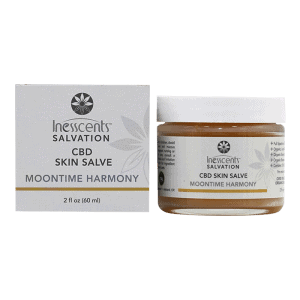 Front view of Inesscents-Salvation-Moontime-Harmony-CBD-Skin-Salve