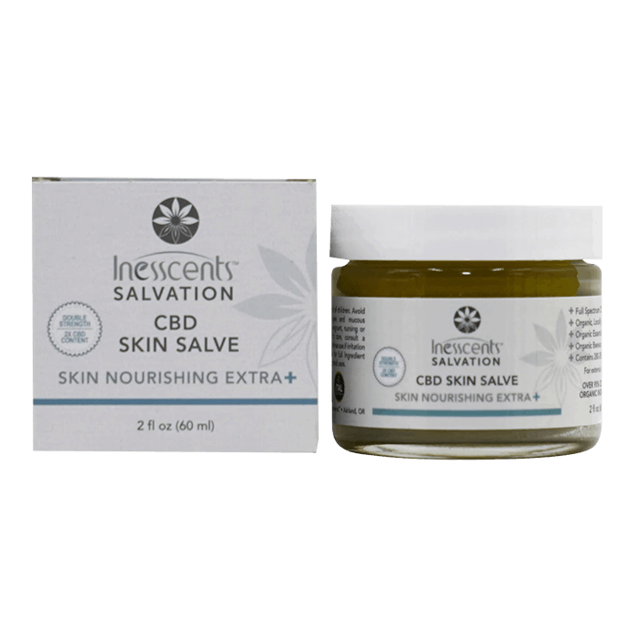 Back view of Inesscents-Salvation-Skin Nourishing Extra Strength-Salve