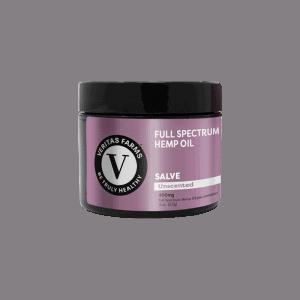 Front view of VeritasFarms-Full-Spectrum-CBD-Salve